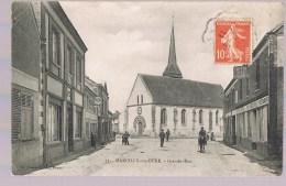 MARCILLY - Sur - EURE . Grande Rue . Animé . - Marcilly-sur-Eure