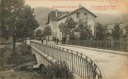 Dép 88 - Bussang - L´avenue De La Gare - état - Bussang