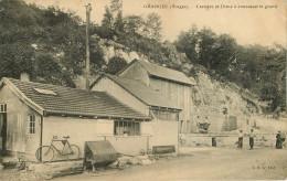 Dép 88 - Usines - Carrières - Granges Sur Vologne - Carrière Et Usine à Concasser Le Granit - état - Granges Sur Vologne