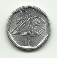 1995 - Ceca Rep.20 Haleru, - Repubblica Ceca