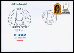 38303) BRD - FDC - Michel 3240 - ESST 53113 BONN Vom 02.05.2016 - 85C  Altötting, Kirche - [7] West-Duitsland