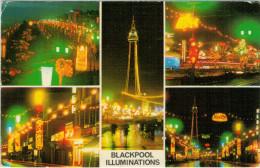 BLACKPOOL  ILLUMINATIONS         (VIAGGIATA) - Blackpool