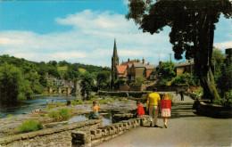 LLANGOLLEN    THE  PROMENADE         (VIAGGIATA) - Denbighshire