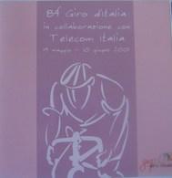 FOLDER TELECOM 84° GIRO D'ITALIA -C&C 3486/87/FU-VUOTO - Italia