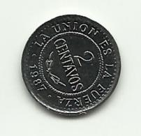 1987 - Bolivia 2 Centavos, - Bolivia