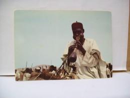 Musicien Mandara Jouant De La Flùte  - Mora - Nord  Camerun - Camerun