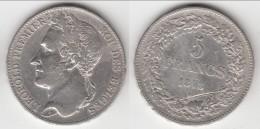** BELGIQUE - BELGIUM - BELGIE - 5 FRANCS 1848 LEOPOLD PREMIER (Position A) - LIRE NOTA  - ARGENT **** ACHAT IMMEDIAT - 11. 5 Francos