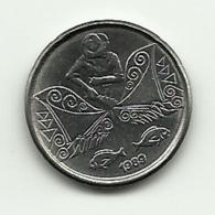 1989 - Brasile 5 Centavos, - Brasile