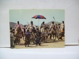 "Sultans Mandaras Du Nord  Camerun Lors De Lafète Nationale Du 20 Mai ""Camerun"" - Camerun"