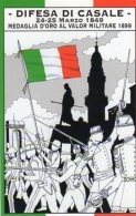 CASALE (AL)  - 2010 - 150° Dell'Unità D'Italia - La Difesa Di Casale Del 1849- - Geschichte