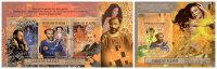 GUINEA 2012 - John Malkovich As Gustav Klimt. M/S + S/S Official Issue - Acteurs
