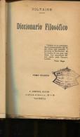 DICCIONARIO  FILOSOFICO AÑO 1920 TOMO CUARTO  AUTOGRAFIADA 192 PAG  LIZ. - Dictionnaires, Encyclopédie
