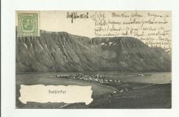 CPA:ISAFJÖROUR ISLANDE VUE.ÉCRITE - Island