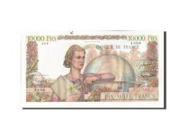 France, 10,000 Francs, 10 000 F 1945-1956 ''Génie Français'', 1955, 1955-04... - 1871-1952 Gedurende De XXste In Omloop