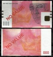 ECHANTILLON  POUR DISTRIBUTEURS . MODELE DU 50 € . - Specimen