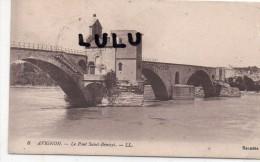 DEPT 84 : Avignon , Le Pont Saint Bénézet  ( FM Train Sanitaire N°20 2 Scans ) - Poitiers