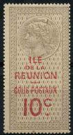 Reunion (1907) Colis Postaux N 5 * (charniere)