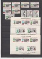 REPUBLIQUE DOMINICAINE- ANNEE MONDIALE DU REFUGIE N° 534 A 539+PA N° 142 A 145+BLOCS N°22 DENT ET NON DENTELE - Dominicaine (République)