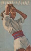 MARIE-CLAIRE-PUB Liliane De Christen LOTERIE NATIONALE - Publicidad