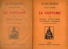 """Le Costume – 5 Volumes"" RUPPERT, J. Lib. E. Flammarion (1930/31) - Littérature"