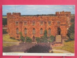Carte Pas Très Courante - Angleterre - Shrewsbury - The Castlel - Scans Recto-verso - Shropshire