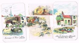 18113. Postal 1914. Village Du Nord .Est. Guerre. Les Boches In Passé Par Là - Cómics