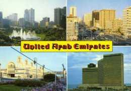 Émirats Arabes Unis : Carte Composite - Emirats Arabes Unis