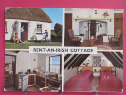 Carte Très Peu Courante - Irlande - Rent An Irish Cottage - Clare Limerick Tipperary - Beaux Timbres - Scans Recto-verso - Limerick