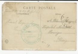 1917 - CARTE De 27° CIE De PRISONNIERS DE GUERRE (13° RI) De NEVERS (NIEVRE) - Oorlog 1914-18