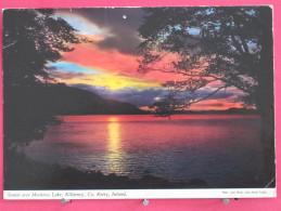 Irlande - Killarney - Sunset Over Muckross Lake - Scans Recto-verso - Kerry