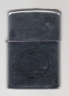 ZIPPO - U.S.S. VIKING -  S-3   ( Sous Marin ) - Chromé    1984 - Réf, 240 - Zippo