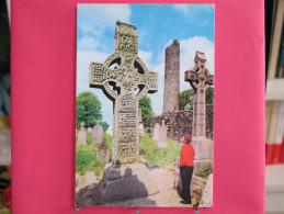 Irlande - Louth - Monasterboice - The High Cross And Round Tower - Joli Timbre 1968 - Scans Recto-verso - Louth