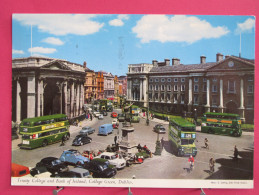 Irlande - Dublin - Trinity College And Bank Of Ireland - College Green - Joli Timbre - Scans Recto-verso - Dublin