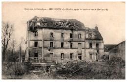 60 MELICOCQ Le Moulin Après Les Combats Sur Le Matz (1918) - France