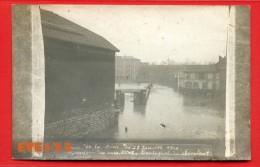 Paris 13 - Carte Photo Rare - Crue De La Seine Du 28 Janvier 1910 - Gare Masséna -  Carrefour Des Rues WATT - CANTAGREL - Distretto: 13