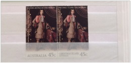 Australia + Christmas Island - 1996 - Nuovo/new MNH - Willem De Vlamingh - Mi N. 1610 E Mi N. 426 - Christmaseiland