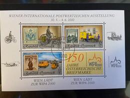Austria - 2000 - Usato/used - WIPA - Mi Bl 14 - 1991-00 Afgestempeld