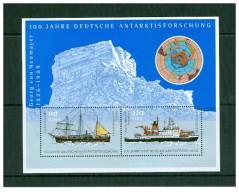 Germania - 2001 - Usato/used - Navi - Mi Bl 57 - Blokken