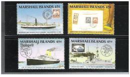Isole Marshall - 1989 - Nuovo/new MNH - Navi - Mi N. 226/29 - Marshall