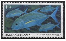 Isole Marshall - 1989 - Nuovo/new MNH - Pesci - Mi N. 208 - Marshall