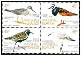 Isole Marshall - 1989 - Nuovo/new MNH - Uccelli - Mi N. 222/25 - Marshall