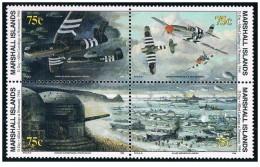 Isole Marshall - 1994 - Nuovo/new MNH - WWII - Mi N. 517/20 Type II - Marshall
