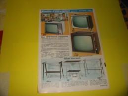 Publicité Radio Télévision Électrophone Magnétophone  1968 - Publicités
