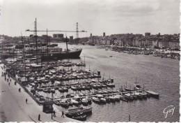 Marseille Le Vieux Port Quai De Rive Neuve N° 1218 CPSM GF - Puerto Viejo (Vieux-Port), Saint Victor, Le Panier