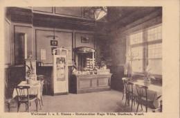 Wartesaal 1 U. 2 Klasse Restauration Hugo Witte Gladbeck Circulée En 1924 - Gladbeck