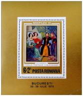 Romania - 1973 - Usato/used - Socfilex - Mi Bl 106 - Gebruikt
