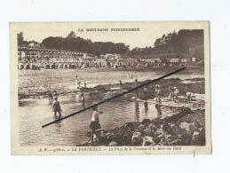 Carte    -  Le Portrieux  - La Plage De La Comtesse Et La Mare Des Petits  - La Bretagne Pittoresque - Pontrieux