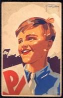 K.S.A. Jaren 30 - CPA Illustratie Van G. De Rechter - Scoutisme