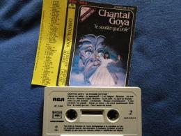 CHANTAL GOYA K7 AUDIO VOIR PHOTO...ET REGARDEZ LES AUTRES (PLUSIEURS) - Audio Tapes