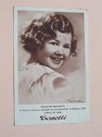 TOSELLI ( FRANCINE BEAUFAYS 1er Prix Plus Bel Enfant De Belgique 1938 ) Anno 1939 ( Zie Foto Voor Details ) !! - Werbepostkarten